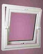 Cửa sổ mở quay quanh trục giữa cánh