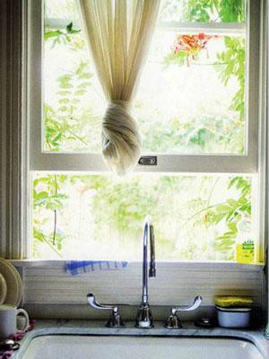Cửa sổ bếp phong thủy